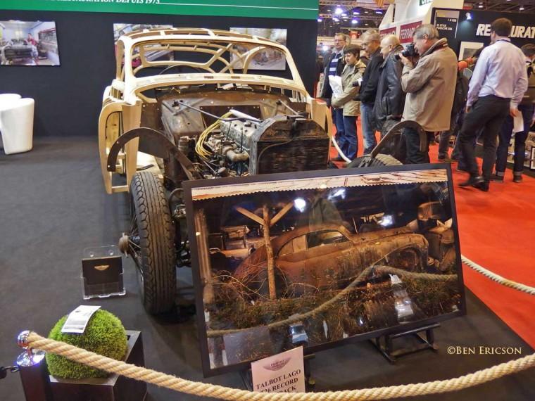 Talbot-Lago T26 Record Fastback by Saoutchik Restoration 3