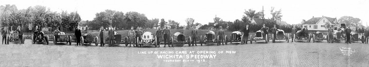Wichita Speedway Opening - 1915
