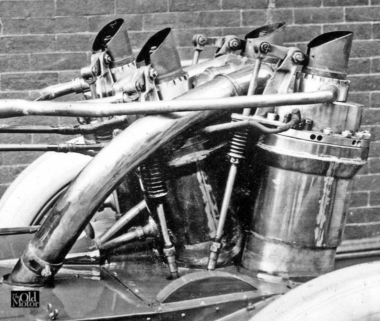 1906 Christie Racing Car V-4 Engine