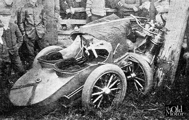 1906 Christie Vanderbilt Crash