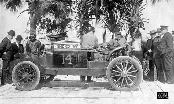 1906 Christie on a Scale at Ormond-Daytona Beach