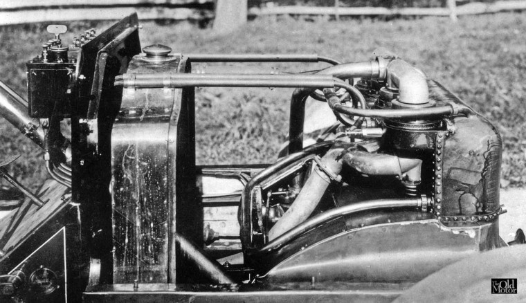 1907 Christie Touring Car Engine