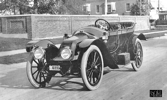 1910 Brothern Touring Car Made in Detroit