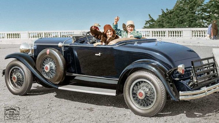 1929 Graham-Paige car at California Palace of the Legion of Honor, Lincoln Park, San Francisco