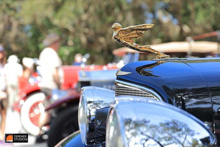1930s Cadillac Goddess Ornament