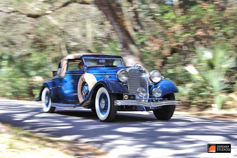 1933 Lincoln KB Le Baron Conv. Coupe