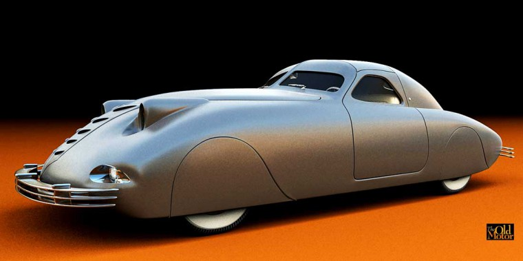 1938 Phantom Corsair Digital Model I