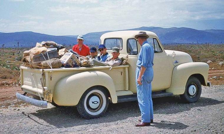 1950s-Chevrolet Pickup