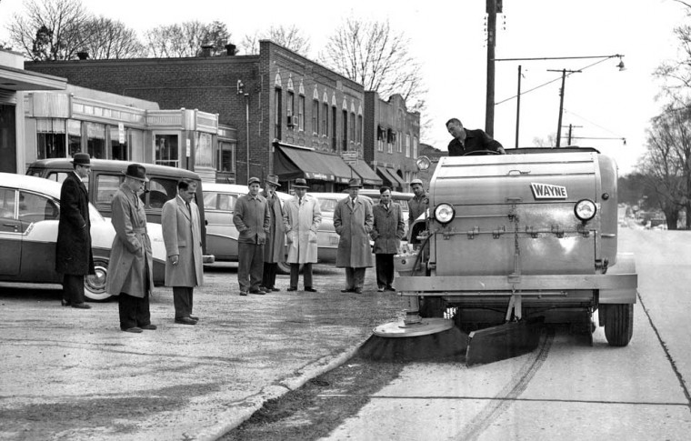 1950s Wayne Street Sweeper