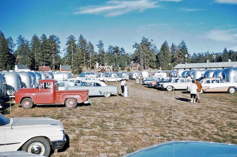 1960s Airstream and Avion Meeting