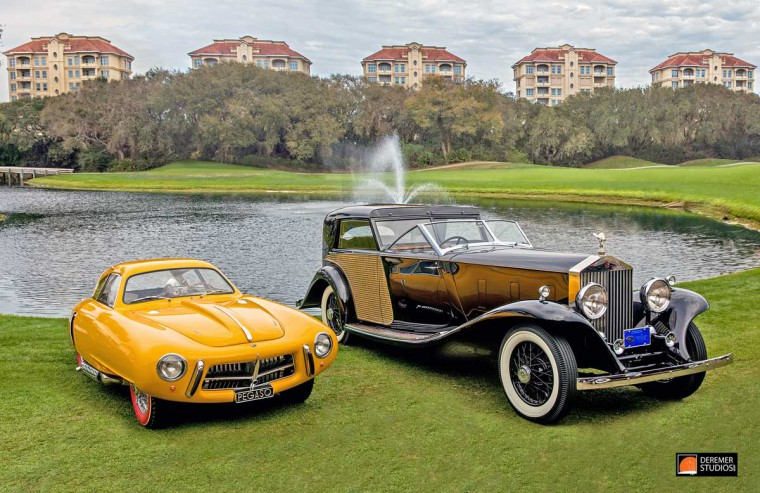 2016 Amelia Concours Pegaso and Rolls-Royce Best of Show winners