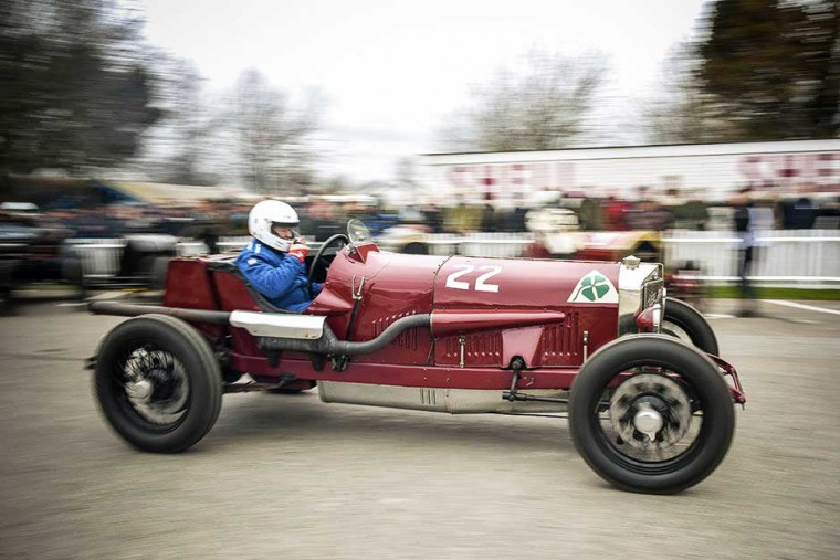 Alfa Romeo at Goodwood