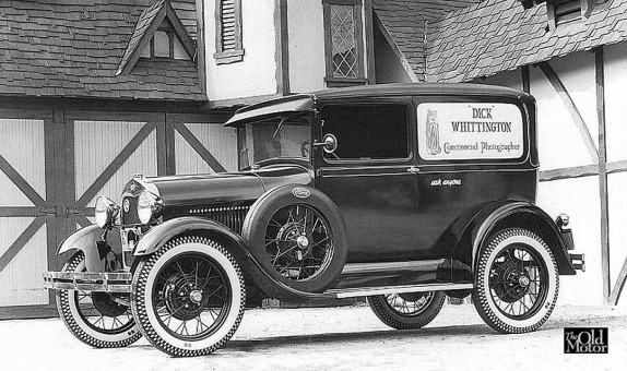 Dick Whittington Model A Ford Sedan Delivery Photography Truck