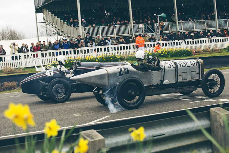 Edwardian Monsters Start at Goodwood