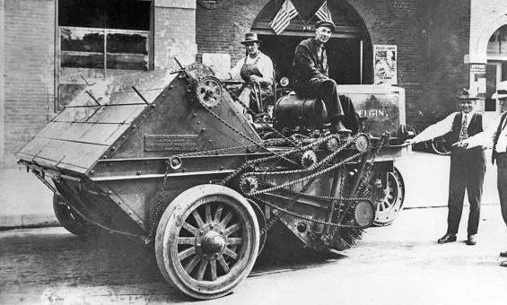 Elgin Street Sweeper New York City 1918
