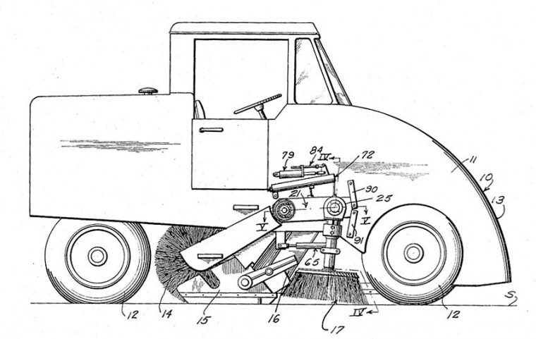 Elgin Sweeper Co. 1966 Patent