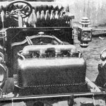 Front of Christie Touring Car Engine