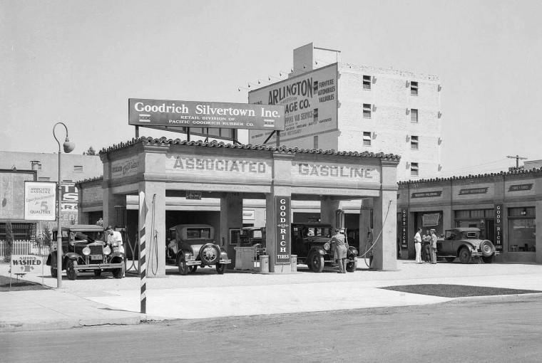 Goodrich Silvertown Tire Store 1931