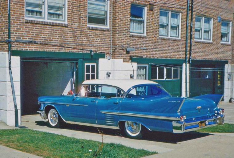 Late-1950s Cadillac Four Door Hardtop