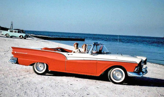 Late-1950s Ford Convertible