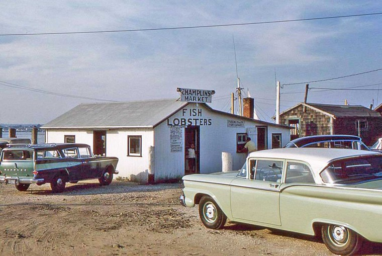 Late-1950s Rambler and Ford