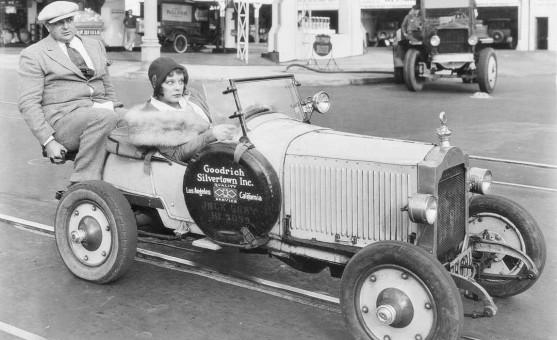 Max Sennett Girl Goodrich Silvertown Baby Packard