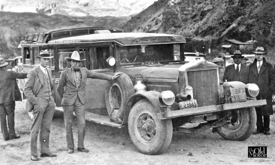 Mystery Pickwick Bus Image - 1928