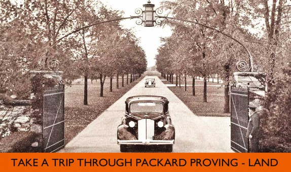 Packard Proving Grounds 1936