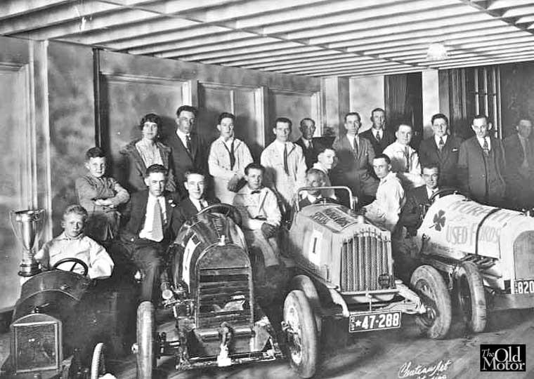 Ralph DePalma and Hollywood Baby Cars