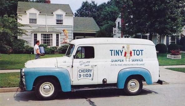 Tiny Tot Diaper Service Dodge Truck