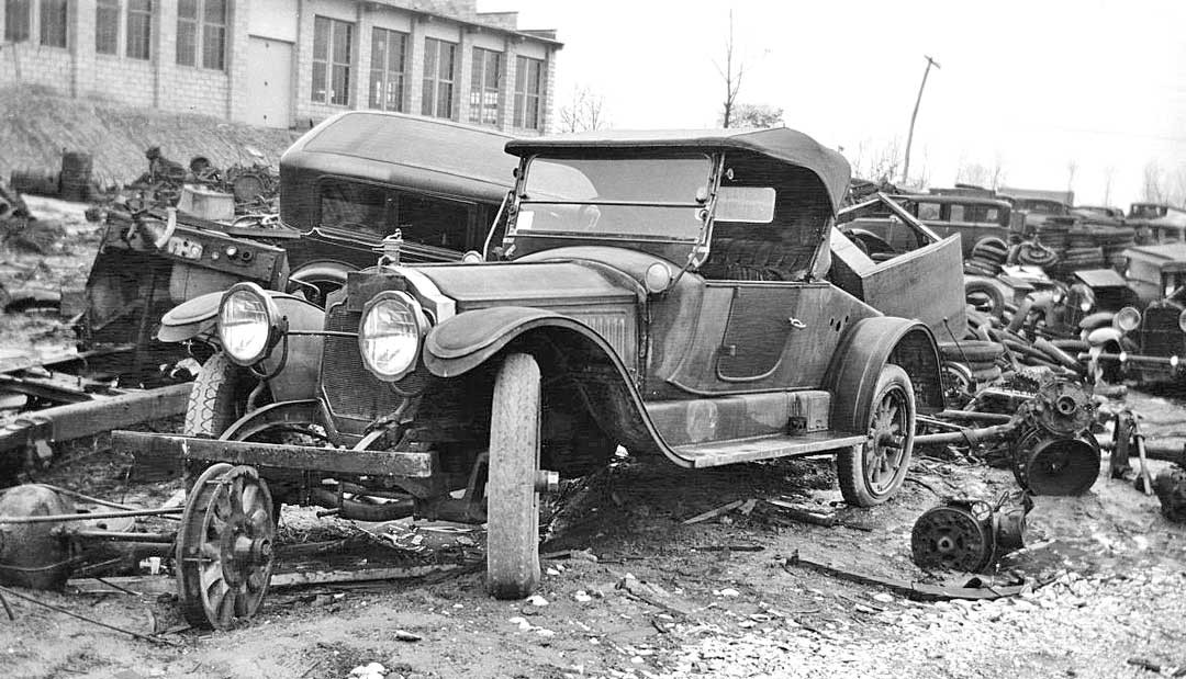 Junkyard Gem From the Old Days – 1913 Packard 2-48 Roadster | The ...