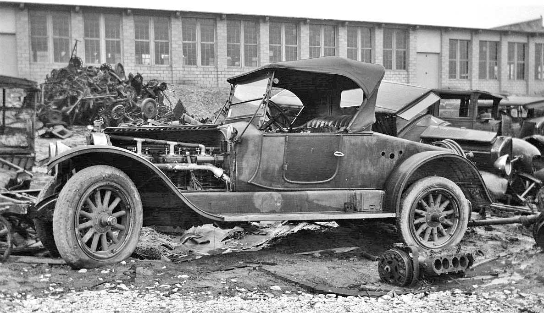 Junkyard Gem From The Old Days 1913 Packard 2 48