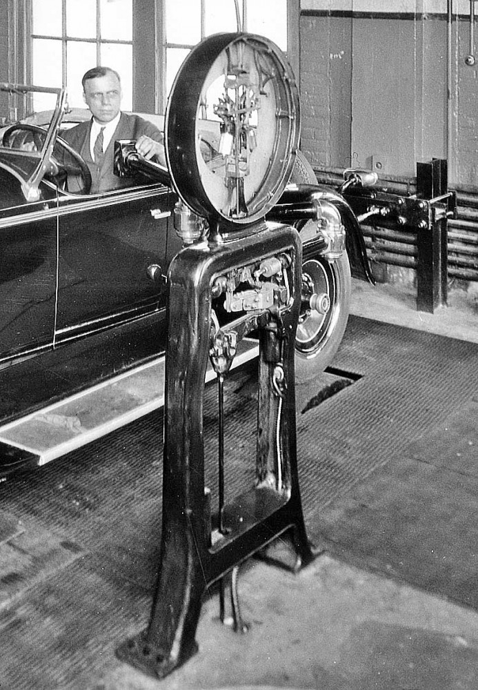 1927 Automobile Chassis Dynamometer
