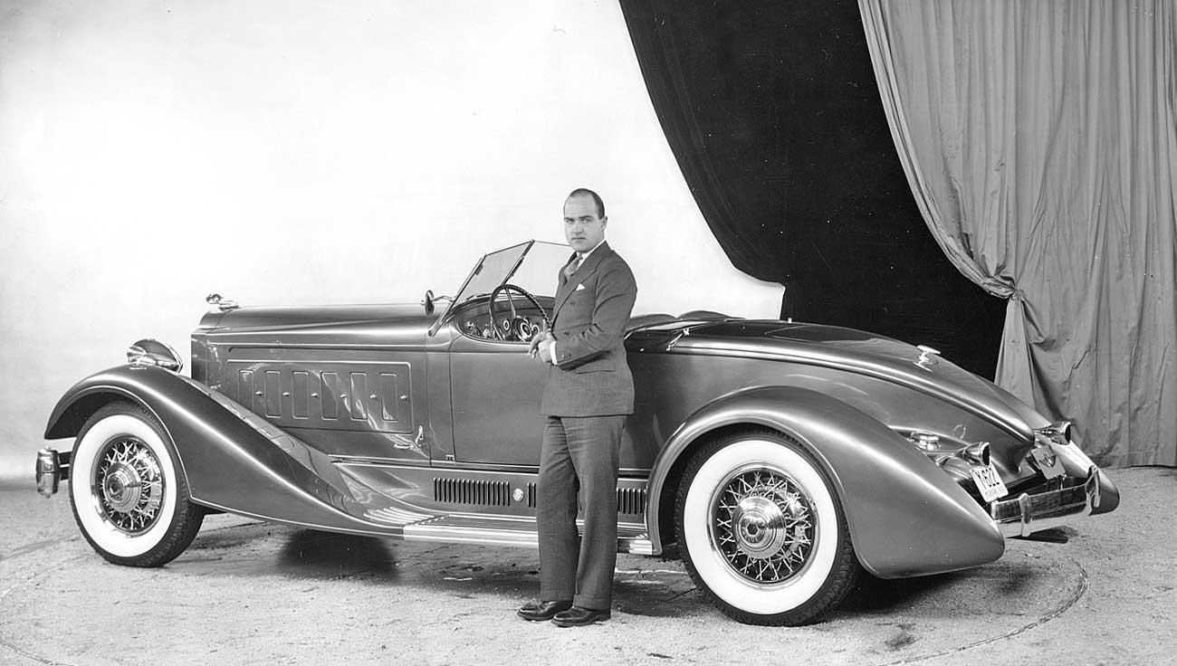 Edward Macauley s Sensational Packard Twin Six Speedster