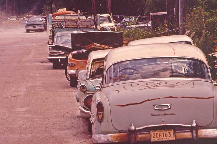 Abandoned Automobiles New Orleans LA
