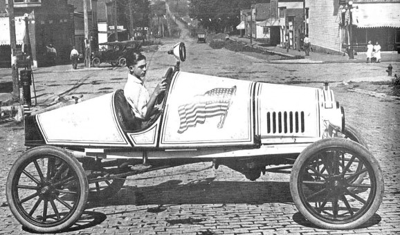 Early Ames Motor T Ford Speedster