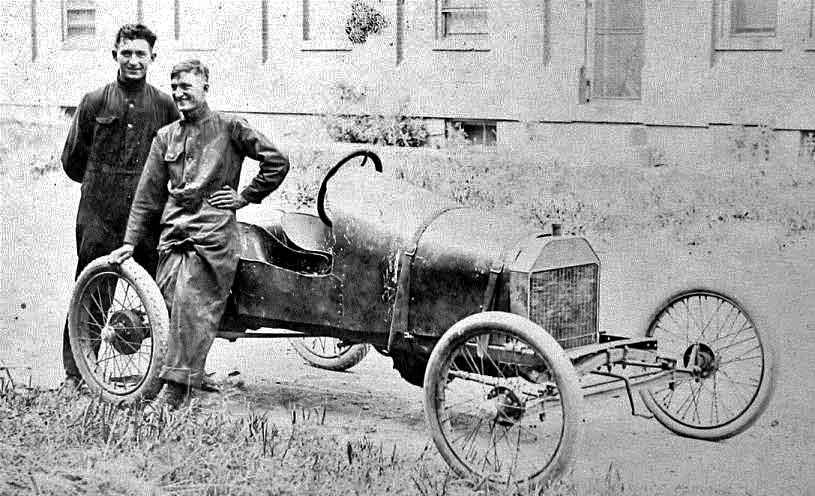 Early S Model T Racing Car