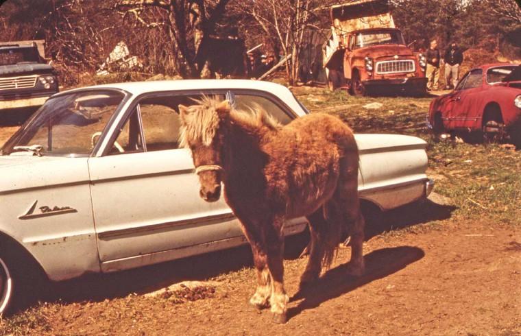Junkyard New Bedford, MA early 1970s