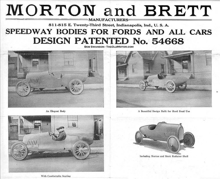 Morton and Brett Speedway Model T Ford Speedway Bodies