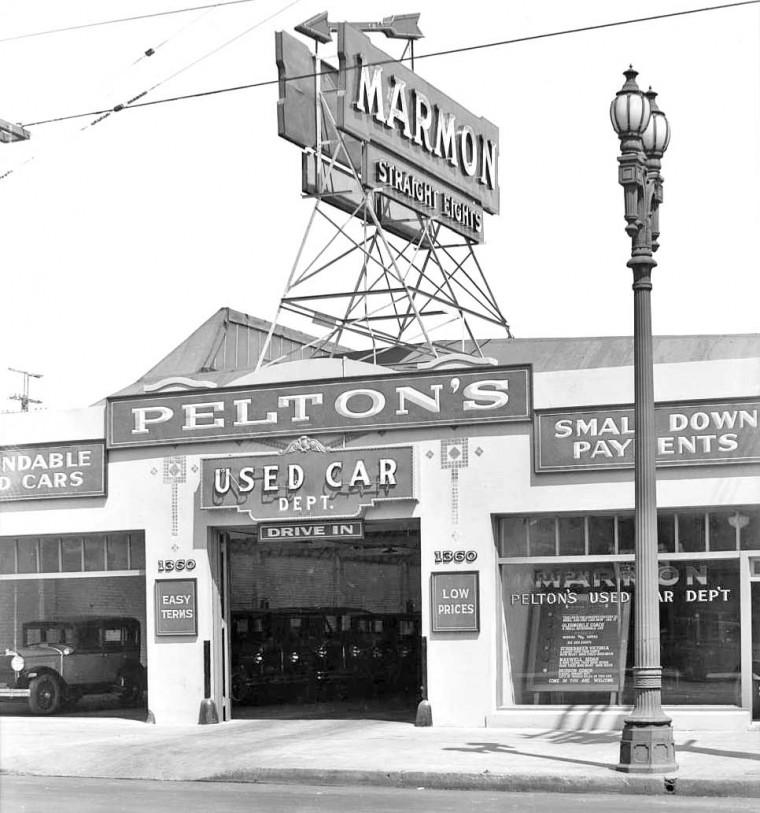Pelton Motor Car Co. 1929 Used Cars