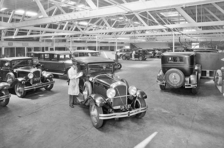Pelton Motor Car Co. Marmon Garage