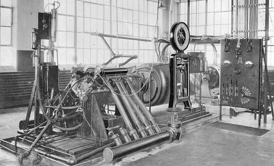 Sprague Electric Dynomometer at Wright Aeronauticale Co