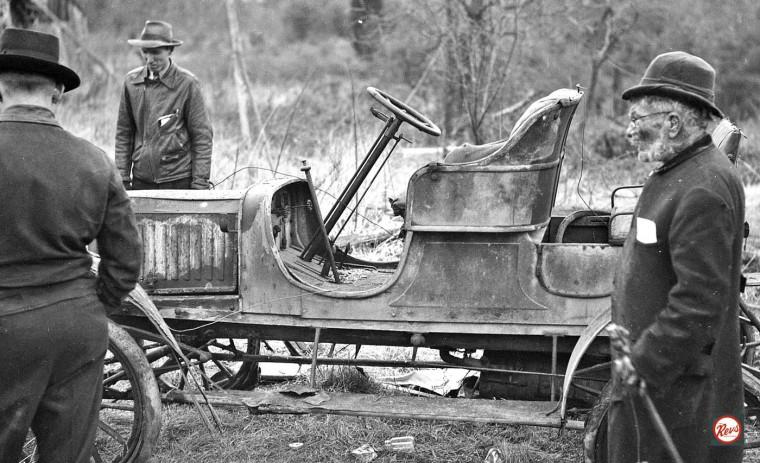 The Hermit's Stanley Steamer