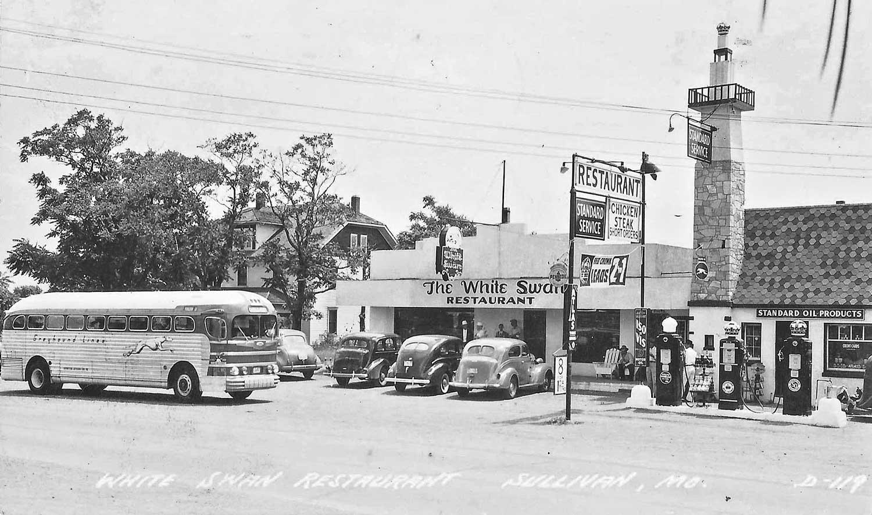 Route 66 Travel Postcard Sullivan Missouri The Old Motor
