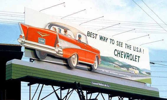 1957 Chevrolet Billboard