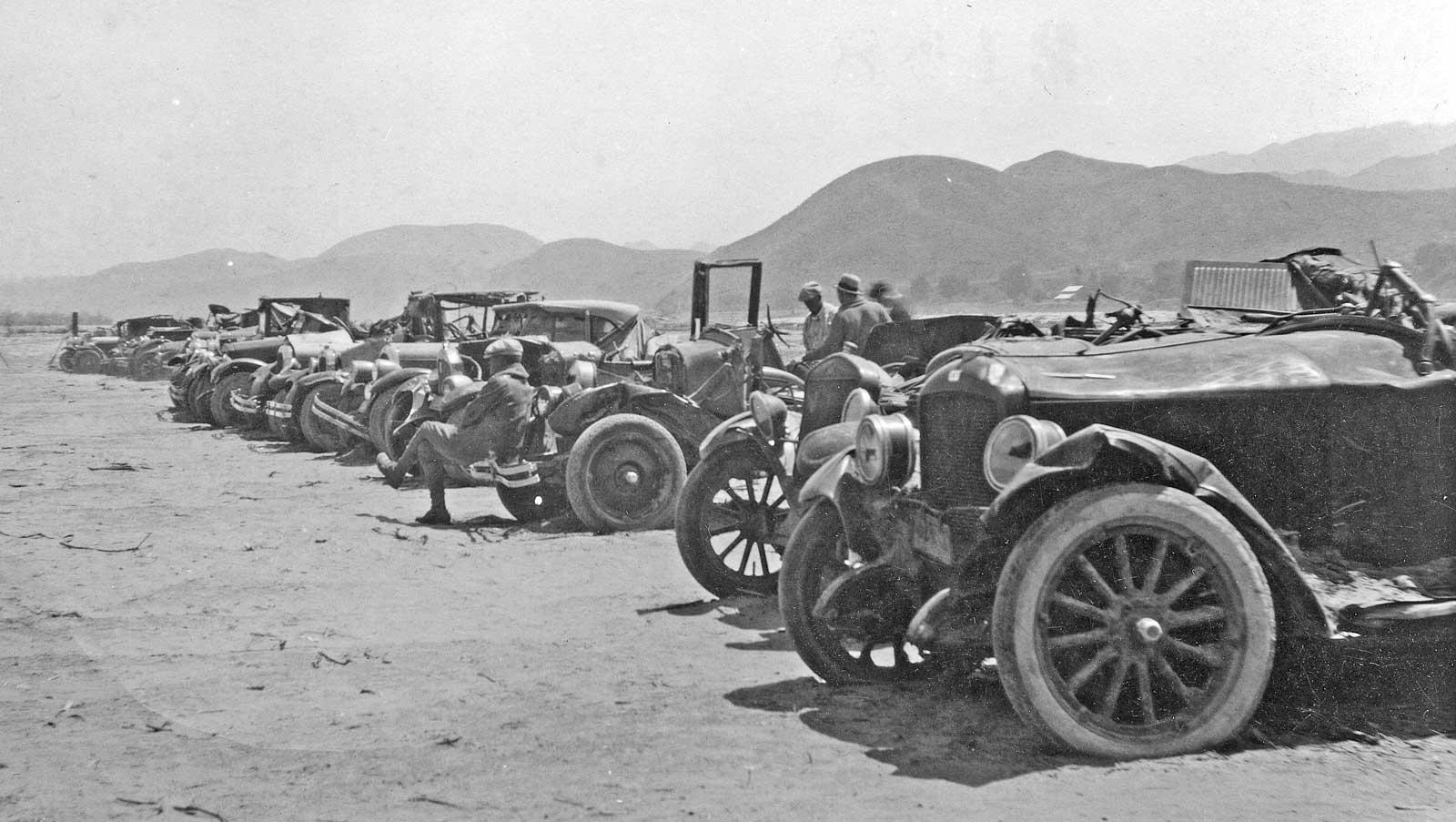 Fifth Avenue Traffic and a California Desert Junkyard Scene | The ...