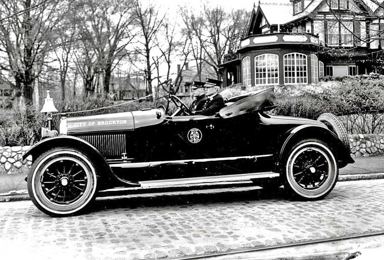 Circa 1920 Brockton Fire Dept. Roadster