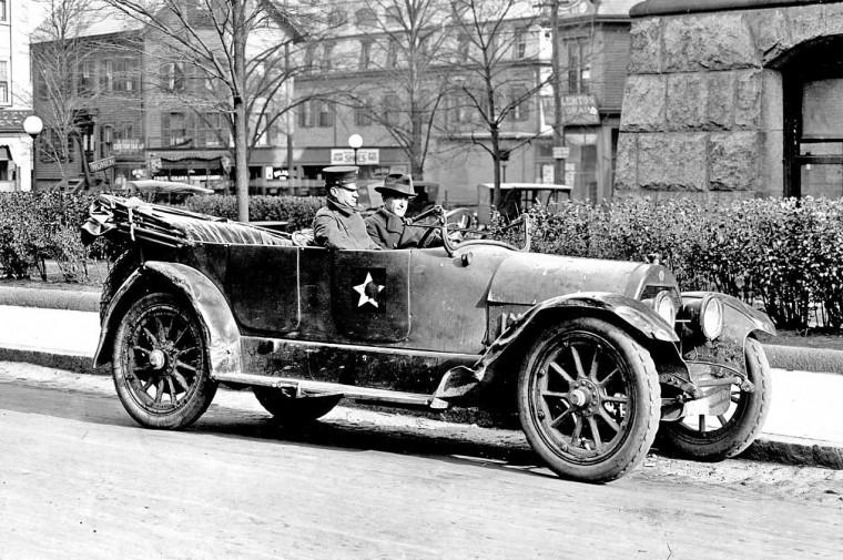 Circa 1920 Touring Car - Brockton MA