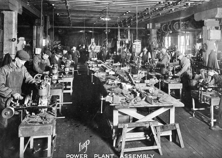 Cyclecar Engine Assembly