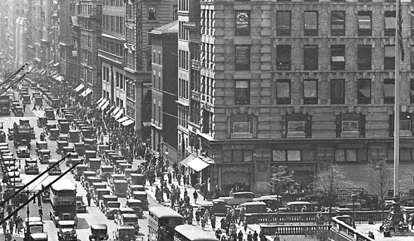 Fifth Avenue NYC 1930